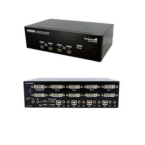 4 Port Dual DVI USB Kvm Switch
