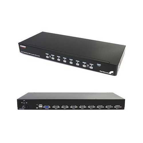 8 Port 1U USB KVM Switch Kit