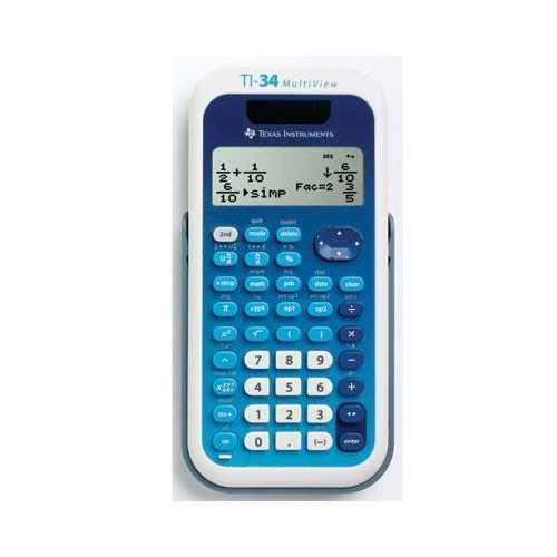 Ti 34 Multi View Calculator