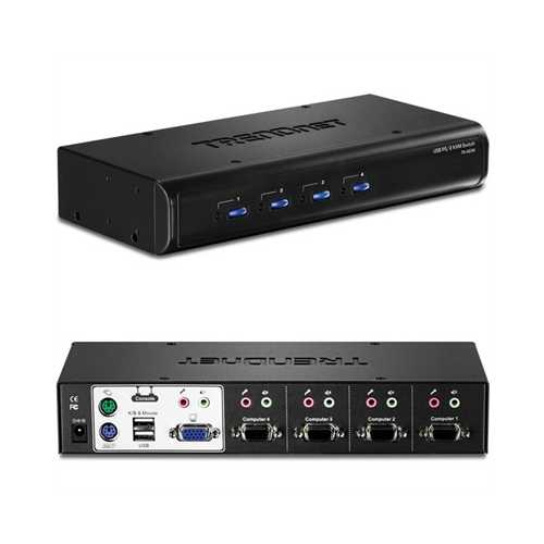 4-port Usb/ps2 Kvm Switch Kit