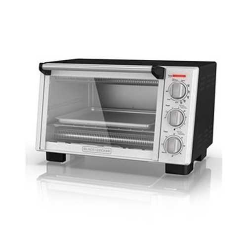 BD Toaster Oven SS Silver Blk