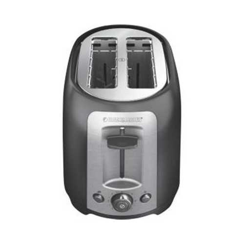 Bd 2-slice Toaster Ss Red