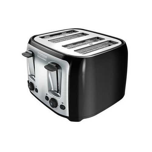 Bd 4-slice Toaster Ss Silver B