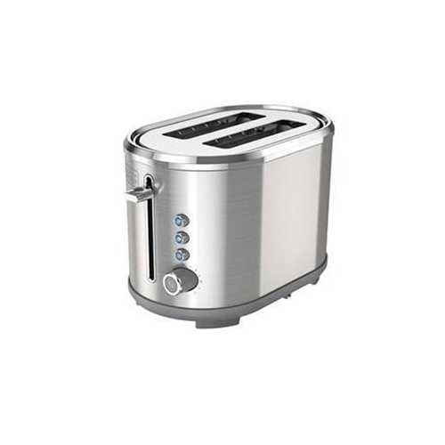 Bd 2-slice Toaster Silver