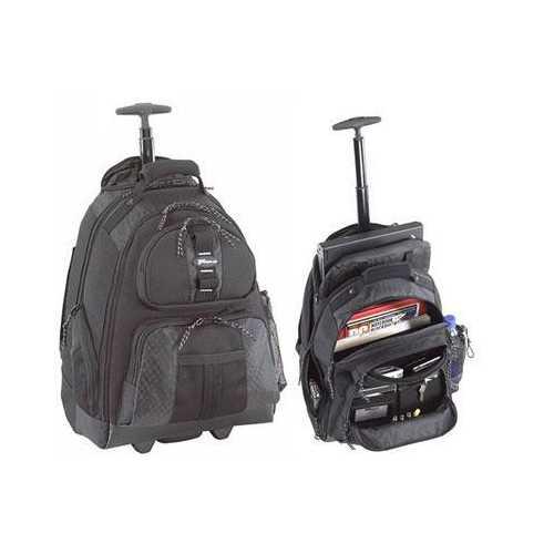Rolling Notebook Backpack Blk