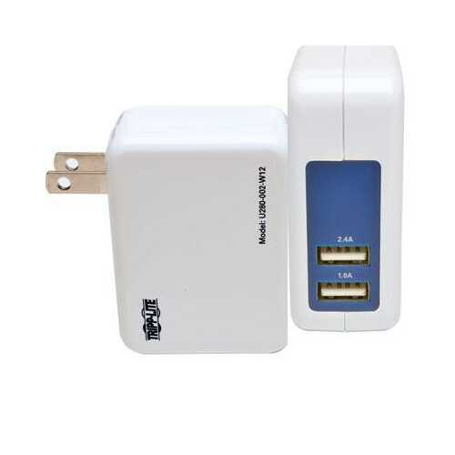 DP 2Pt USB Tablet Wall Charger