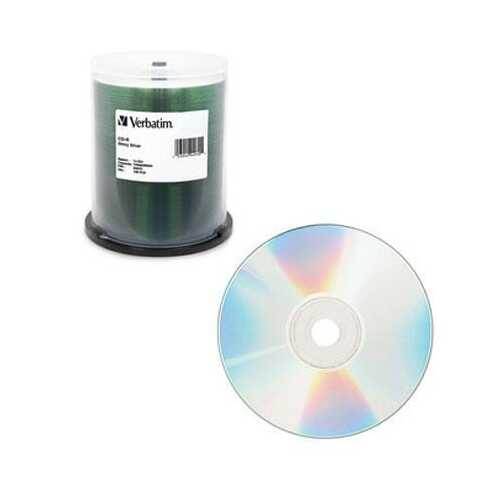 CD R 80 100Pk 52X Shiny Silvr