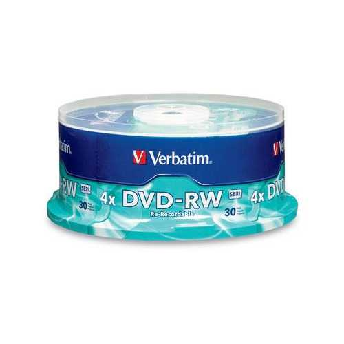 Dvd-rw 30 Pk Spindle