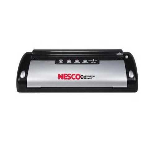 Nesco Vacuum Sealer Blkslvr