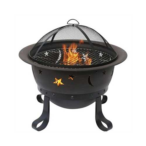 Outdoor Fire Bowl Bronze