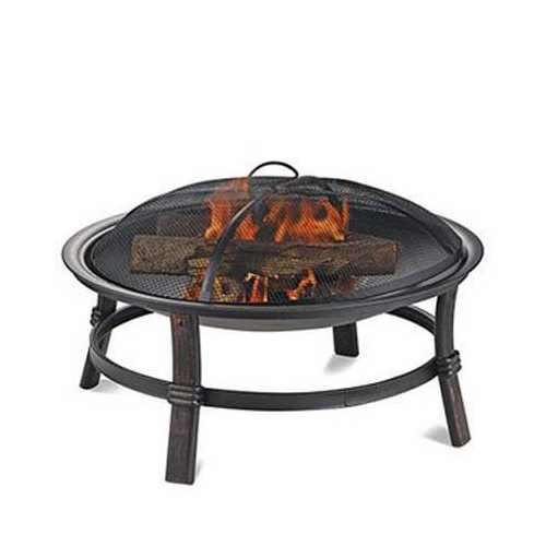 """17""""H Wood Burning Firebowl"""