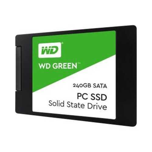 """WD Green 2.5"""" SSD 240GB"""