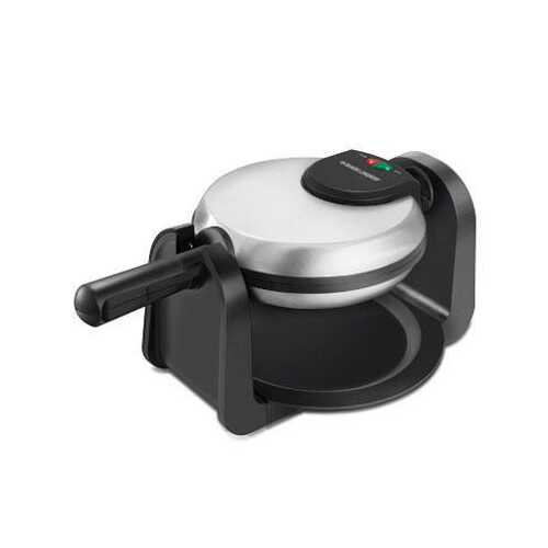 Bd Rotary Waffle Maker Blk Ss