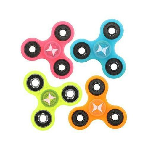 24pc Fidget Neon Glow Spinnr