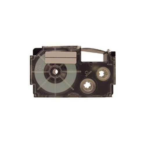 18mm Black Ink White Tape 2pk