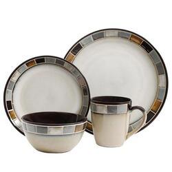 Gris 16pc Dinnerware Set