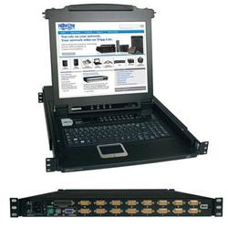 "16 Port KVM Switch 17"" LCD"