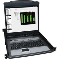 8 Port KVM LCD Console