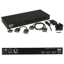 4 Port USB PS2 KVM Switch