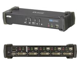 4 Port DVI D KVMP with USB 2