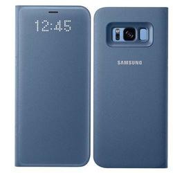 Galaxy S8 LED Wallet Cover Blu