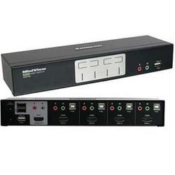 4 Port HDMI Multimedia KVM TAA