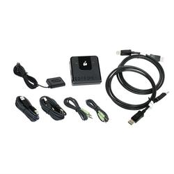 2 Port DisplayPort KVM 4K HD