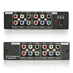 3port Component Video Splitter