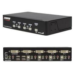 4 Port DVI USB Kvm Switch