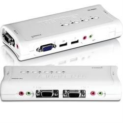 4-port USB Kvm Switch Kit W&#47au