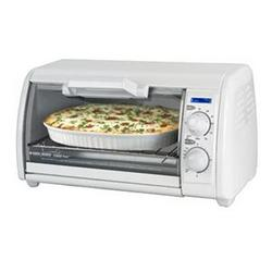 Bd 4 Slice Toaster Oven Wht