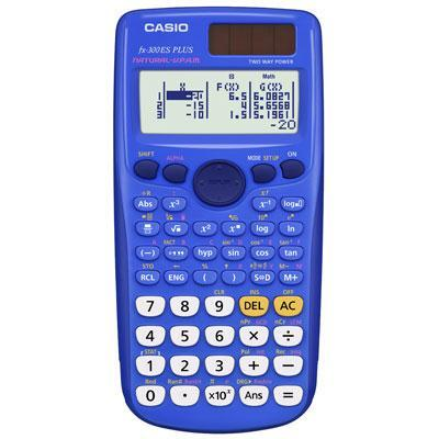 Shop Scientific Calculator Blue
