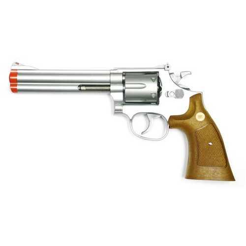 TSD 934 UHC 6 inch revolver, Silver/Brown