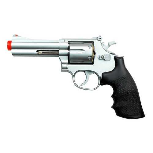 "TSD Sports Spring Revolver - 4"" Barrel, Silver/Black"