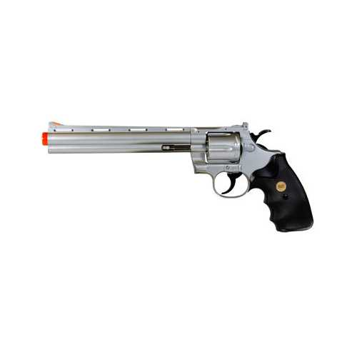 "TSD UHC 141SR Gas Airsoft Revolver, 8"" Barrel"