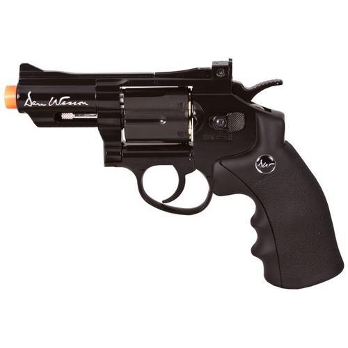 Dan Wesson CO2 Airsoft Revolver, Black, 2.5