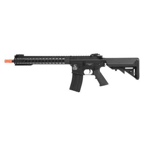Colt M4A1 Long Keymod Full Metal AEG Rifle, Black