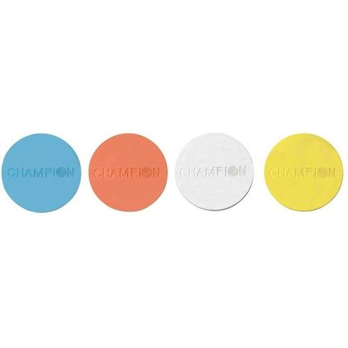 "Champion VisiChalk 3"" Multi-Color Targets, 48ct"