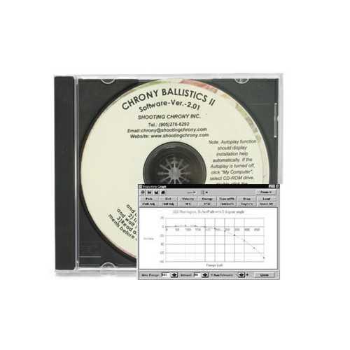 Chrony Ballistics II Software