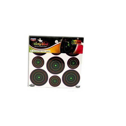 "Birchwood Casey Dirty Bird Targets, 2"" & 3"" Targets, 180ct"