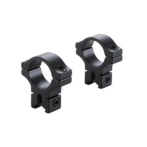 "BKL 1"" Rings, 3/8"" or 11mm Dovetail, Matte Black"