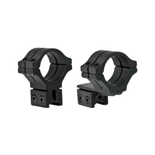 "BKL 30mm Rings, 3/8"" or 11mm Dovetail, Double Strap, Offset, Matte Black"