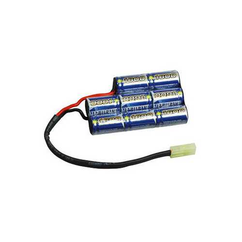 Intellect 9.6v 1600mAh Small Size for Battery Box
