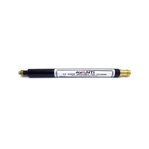 Daisy Match Grade Avanti 2.5 ounce refillable cylinder