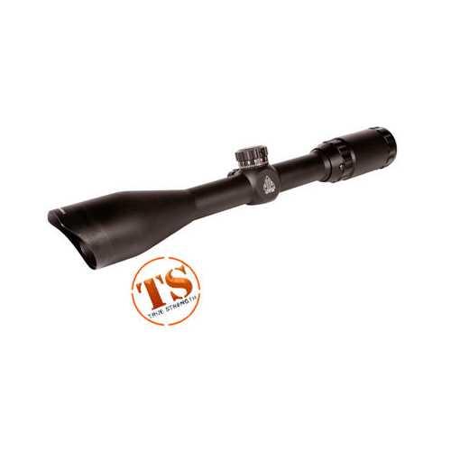 "UTG 3-9x40 Rifle Scope, Mil-Dot Reticle, 1/4 MOA, 1"" Tube, 3/8"" Dovetail Rings"