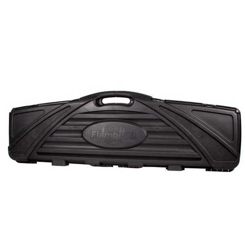 Flambeau Safe Shot Double Rifle Case, Black, 53.375""