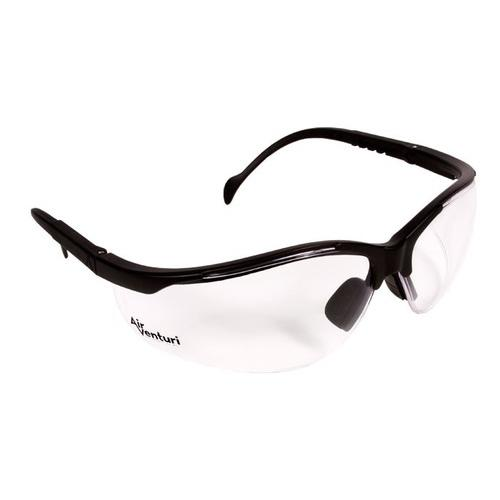 Air Venturi Safety Glasses, Clear Anti-Fog Lenses, Adjustable