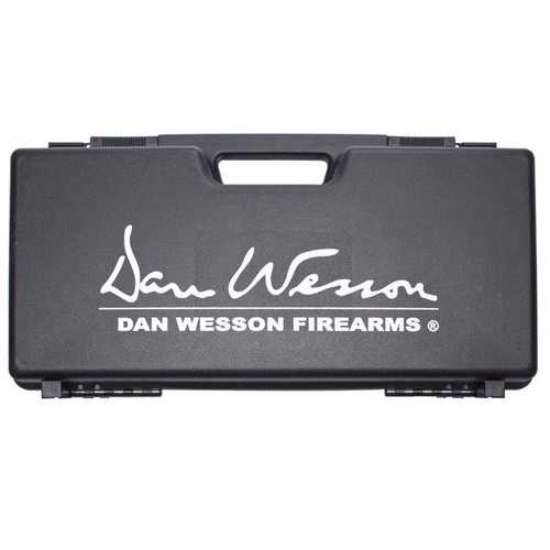 "ASG Dan Wesson Revolver Case With Logo, Plastic, Black, 3.3""x9""x18"""