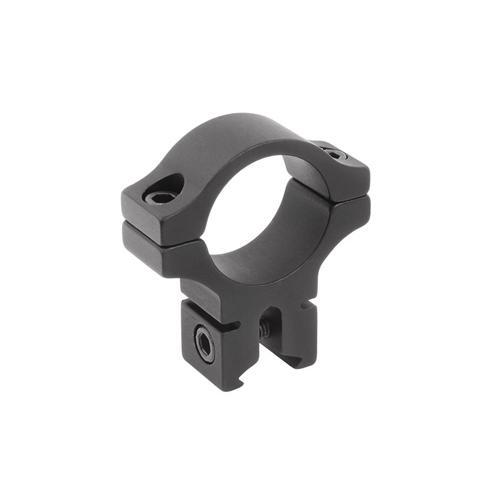 "BKL Single 1"" Ring, 3/8"" or 11mm Dovetail, 0.60"" Long, Black"