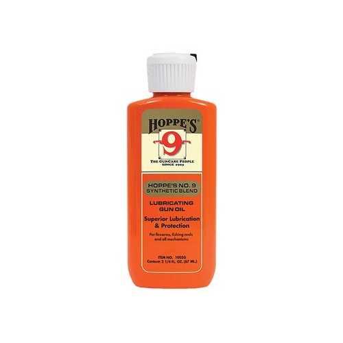 Hoppe's No. 9 Synthetic Blend Lubricating Gun Oil, 2.25 oz